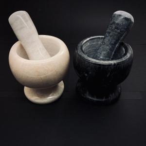 Мраморная ступка для специй — фото