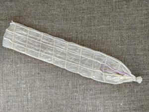 Фиброузная оболочка 55 мм с сеткой (40 см) — фото