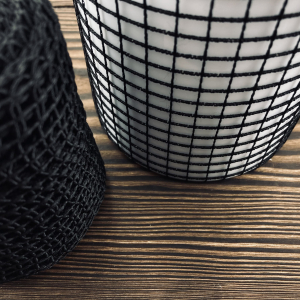 Эластичная сетка чёрна 220 мм  — фото