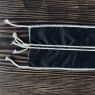 Текстильная оболочка для копчения Чёрная — фото