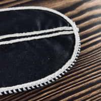 Текстильна оболонка для копчення Чорна  — фото