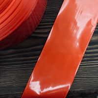 Полиамидная оболочка 65 мм красная  — фото
