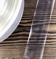 Полиамидная оболочка 40 мм прозрачная  — фото